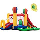 Best Inflatable Bouncers With Slides - Costzon Inflatable Bounce House, Mighty Balloon Double Slide Review