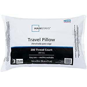 Amazon Com Mainstays Travel Pillow Home Amp Kitchen