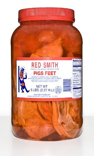 Red Smith Pickled Pigs Feet 5 Lb Jar By Red Smith Buy Online In Grenada At Grenada Desertcart Com Productid 32142944