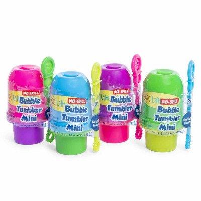 Little Kids No Spill Bubble Tumbler Mini 2 Pc Bundle Set Colors May Vary - Mini Bubble Bucket