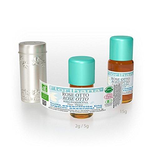 オーガニック エッセンシャルオイル ローズオットー 5g(5.7ml) B00DFWGW02  5g(5.7ml)