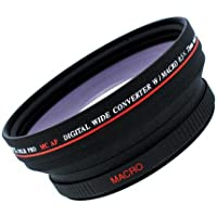 Digital Video .5x 72mm Wide Angle Lens for Canon XL1H XL2 XL1s XL1