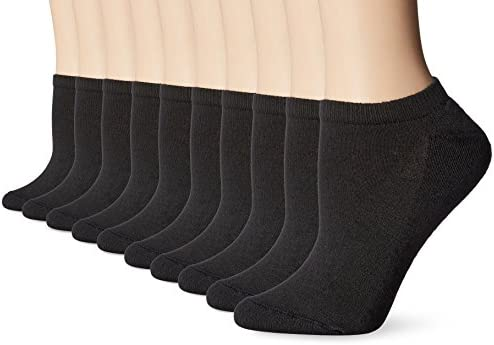 Hanes Women's Multi Pack No Show Sock