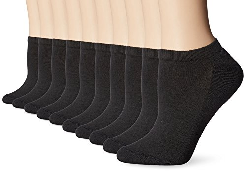 Hanes-Womens-No-Show-Sock-Pack-of-10