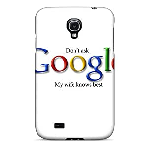 Zheng caseFashionable Style Case Cover Skin For Galaxy S4- Google