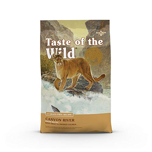 Taste of the Wild Dry Cat Food With Real Roasted And Smoked Meat, Fish Or Fowl