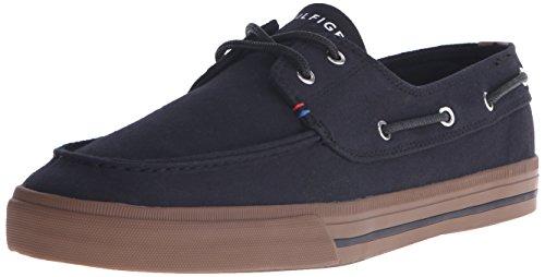 Tommy Hilfiger Canvas Shoes (Tommy Hilfiger Men's Philo Fashion Sneaker, Black, 10 M)