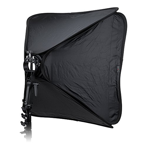 Fotodiox Pro 32x32in (80x80cm) Foldable Softbox with Flash Bracket for Speedlights and Bowen Mount Strobes