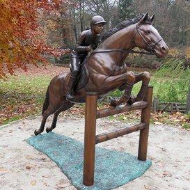 A Large Bronze Horse Showjumping Horse Garden Statue/Ornament U2013 Amazone  Bronze
