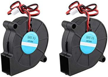 2 ventiladores de refrigeración para impresora 3D, 24 V, 50 x 50 x ...