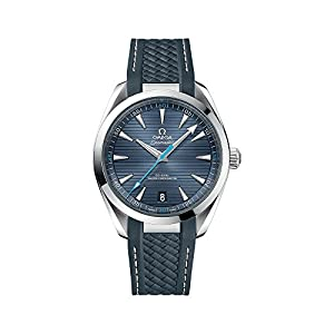 41PHUiP1KBL. SS300  - Omega Seamaster Automatic Blue Dial Mens Watch 220.12.41.21.03.002