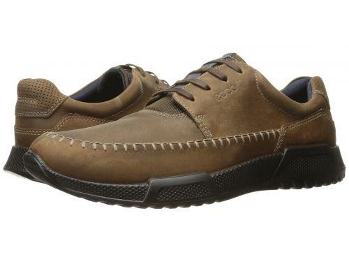 ECCO(エコー) メンズ 男性用 シューズ 靴 スニーカー 運動靴 Luca Moc Toe Tie - Camel/Marine [並行輸入品] B07BDG9YZK