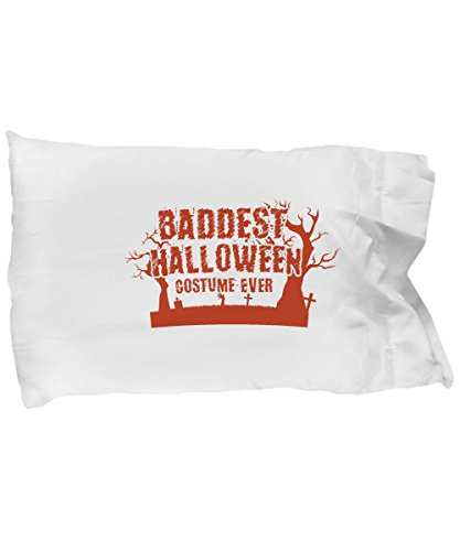 Pillow Covers Design Not Scary Baddest Halloween Costume Ever Funny Gift Pillow Cover Ideas ()