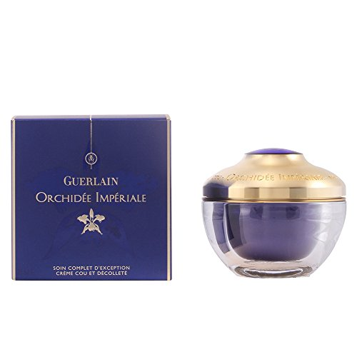 Guerlain Orchidee Imperiale Exceptional Complete Care Neck and Decollete Cream for Unisex, 2.5 Ounce