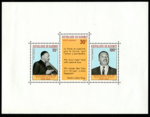 Martin Luther King Stamp (Martin Luther King Jr. Souvenir sheet with quote: