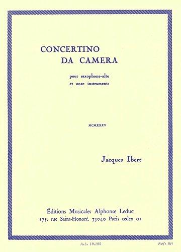 CONCERTINO DA CAMERA SAXOPHONE EPUB