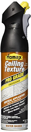 Spray Ceiling (Homax 4665 20 oz. Pro Grade Knockdown Water Based Ceiling Texture)