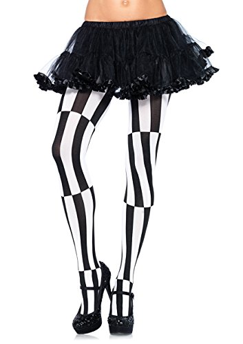 Leg Avenue Womens Plus Size Optical Illusion Tights -