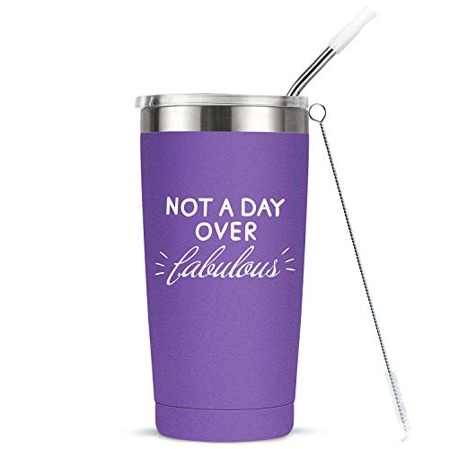 Not A Day Over Fabulous Travel Tumbler - 8 Colors