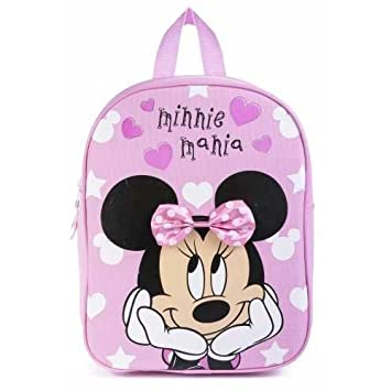 0f513052317 Disney Junior Sambro Minnie Mouse Backpack with 3D Bow  Amazon.co.uk ...