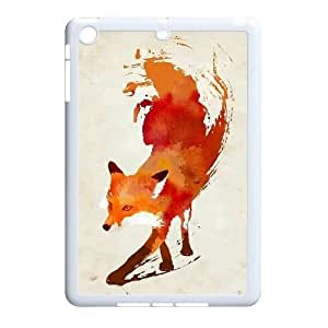 Lycase(TM) FOX DIY Cover Case, FOX Ipad Mini Hard Back Case