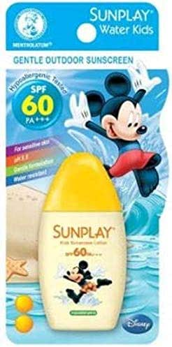 SUNPLAY Water Kids SPF 60 35g-Enriched with Chamomile Extract to Keep Kid'S Skin Soft and Minimize Skin Irritation.