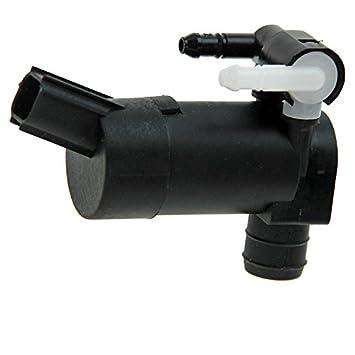 Wischwasserpumpe f/ür Scheibenreinigungsanlage 1 St/ück 12 Volt febi bilstein 34863 Waschwasserpumpe