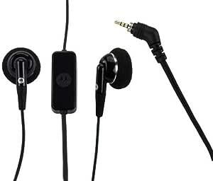 Motorola SJYN0505A Original OEM 2.5mm PTT Stereo Wired Headset - Non-Retail Packaging - Black