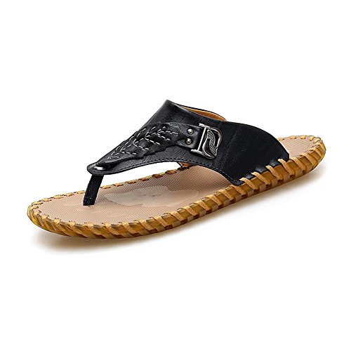 T3 Verano Toe Al Zapatos Color Tamaño EU39 Playa T2 CJC Senderismo Hombres Zapatillas Libre UK6 Moda Open Aire Fisherman Sandalias Casual xBYavqwzp