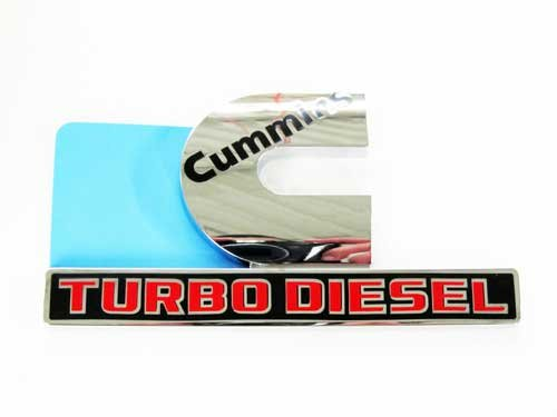 cummins turbo diesel badge - 6