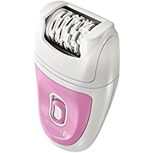 Remington Smooth & Silky Total Coverage Epilator, Electric Tweezing System, Pink, EP7010E