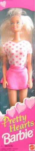Pretty Hearts Barbie Doll (1995) (11.5