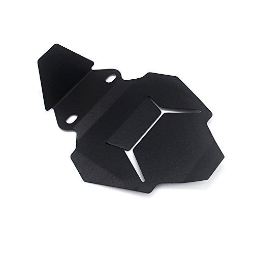 FATExpress Placa Protectora de la Cubierta de la Carcasa del Motor de Aluminio Negro para BMW R1200GS R1200RT R1200R R1200 GS LC ADV Aventura 2013 2014 2015 2016