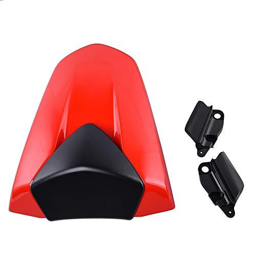 XX eCommerce Motorcycle Motorbike ABS Plastic Rear Pillion Passenger Hard Seat Cowl Cover Section Fairing for 2013-2015 Honda CBR500R 2014 ()