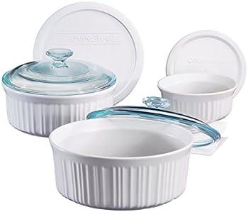 Corningware French 6 Piece Bakeware Set