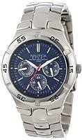 Nautica Men's N10061 Stainless Steel Round Multi-Function Watch from Nautica