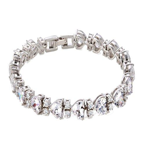 Price comparison product image BL-070343C1 Fashionable Alloy Korean Version Diamond Diamonds Women's Bracelet
