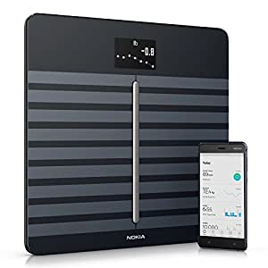 Nokia Body Cardio Black - Wi-Fi Smart Scale with Body Composition & Heart Rate