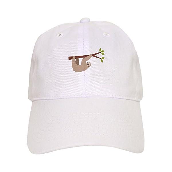 Cafepress Sloth Baseball Baseball Cap -