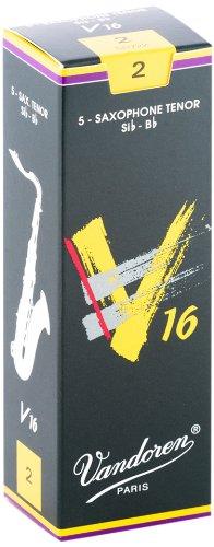 Vandoren SR722 Tenor Sax V16 Reeds Strength 2; Box of 5