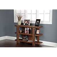 American Furniture Classics 3 Shelf Rough Sawn Industrial Style Bookcase, 30, Hewn Pallet