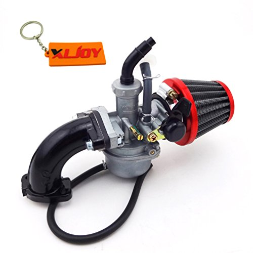 XLJOY Dirt Bike 22mm Carb PZ22 Carburetor Intake Pipe Filter For 110cc 125 cc Pit SSR ()