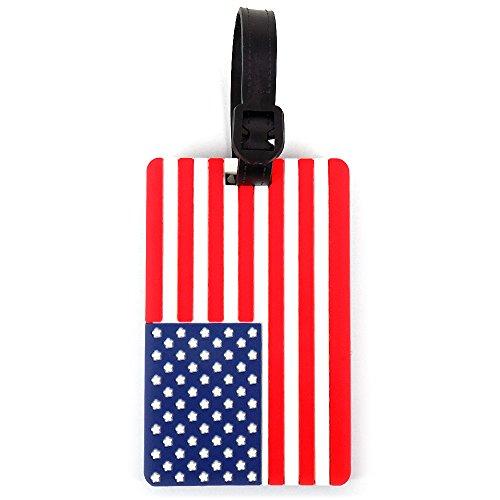 USA FLAG LUGGAGE TAG ()