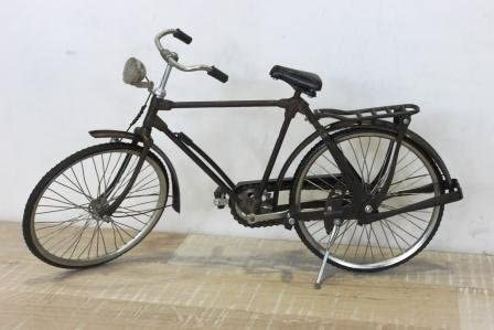 Keyhomestore Bicicleta Decorativa Hombre de Metal Vintage Ideal ...