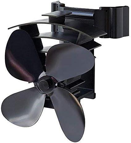 Valiant Ventilador de estufa alimentado por calor, negro, FIR350 ...