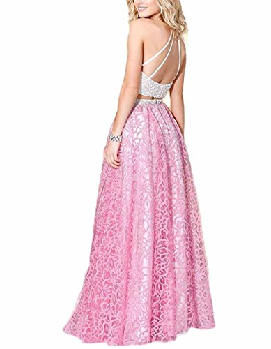 Linie Damen Kleid Fanciest Rose A nXq77E