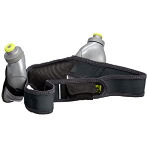 Nathan Speed 2 Hydration Belt, Black, Large