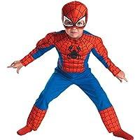 ملابس تنكرية للاطفال بتصميم سبايدرمان من ماسكوت، زي تنكري بتصميم سبايدرمان للاطفال