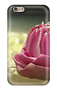 High Quality Pink Lotus Case For Iphone 6 / Perfect Case 6529699K34717676