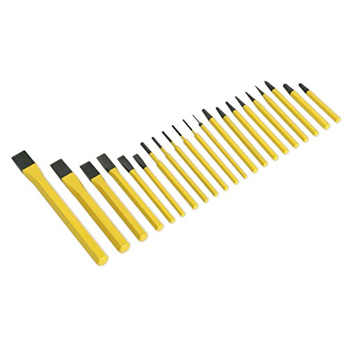(Sealey S0805 Punch & Chisel Set 21pc)